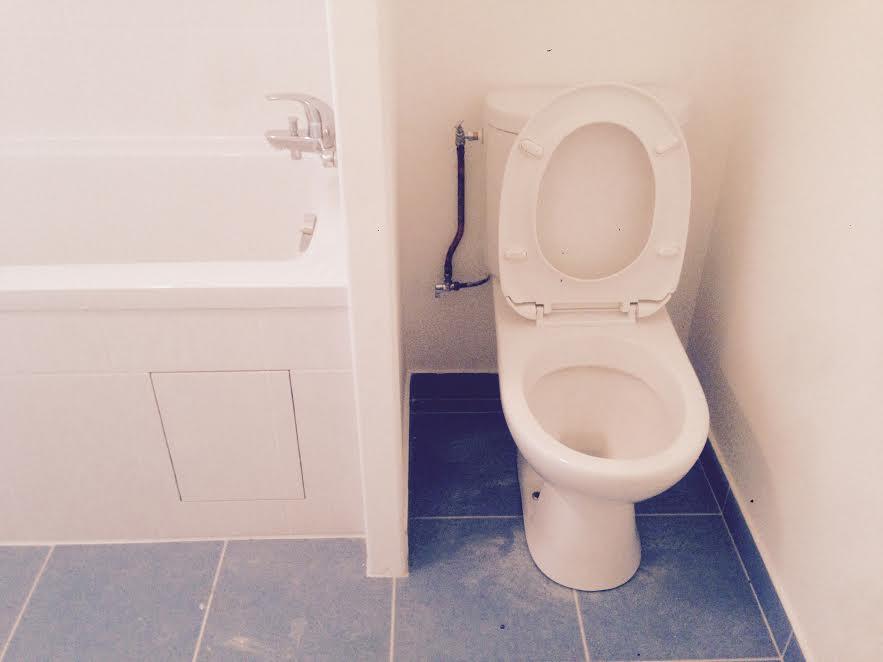 Rénovation salle de bain, WC