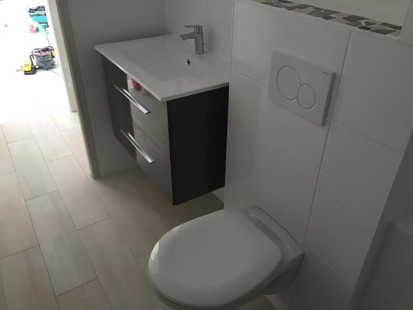 Pose lavabo, WC
