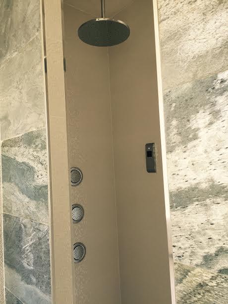Pose colonne de douche